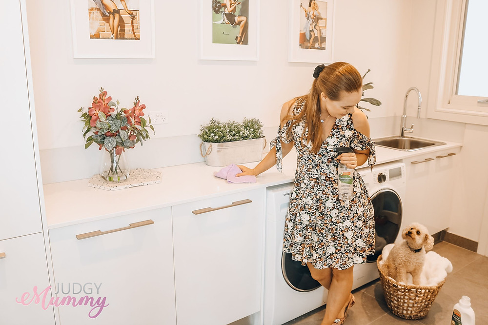 Nina Belle's top 10 spring cleaning tips with Bosisto's