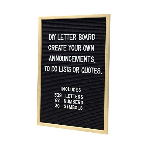 Kmart DIY letterboard