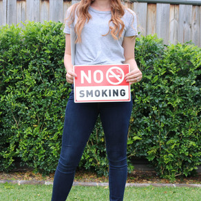 A letter to those smokers...