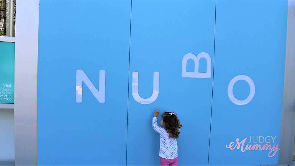 Nubo in Alexandria, Sydney - Little Miss getting excited to see what's inside