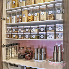 How I turned my kitchen pantry from drab to fab
