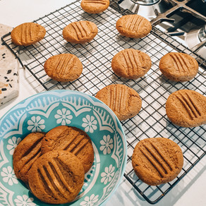 RECIPE: Protein packed peanut butter cookies