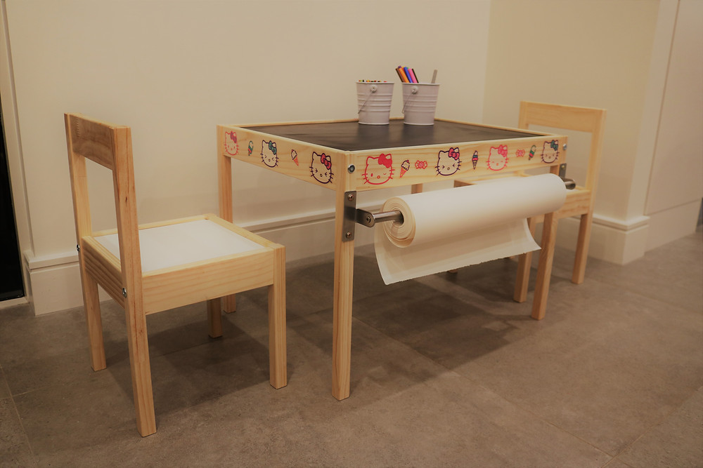 IKEA Latt Kids table - after