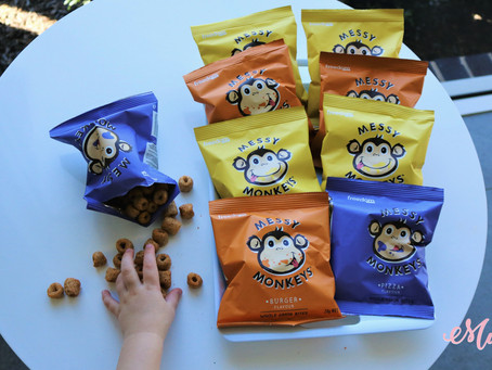 The perfect snack for messy monkeys