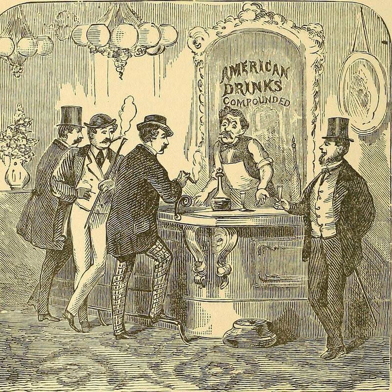 Colonial era bar