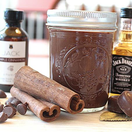 Boozy Bourbon Chocolate Sauce