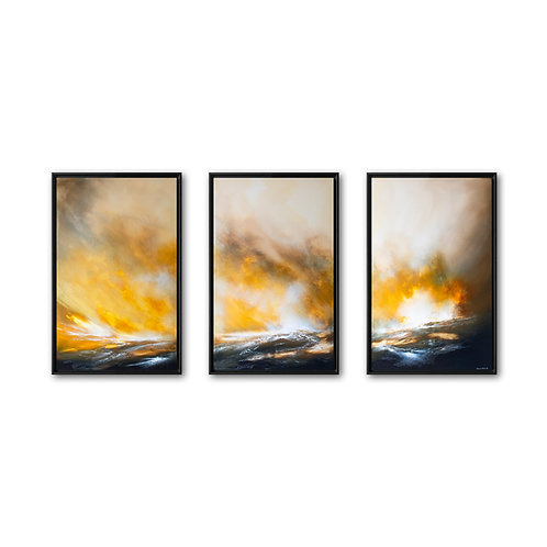 A New Promise  (Triptych) 2020