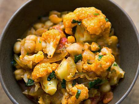 Cauliflower & Vegetable Curry