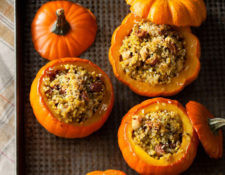 Curry-Stuffed Mini Pumpkins