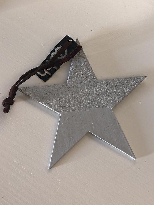 Julgranspynt i återvunnet papper grå