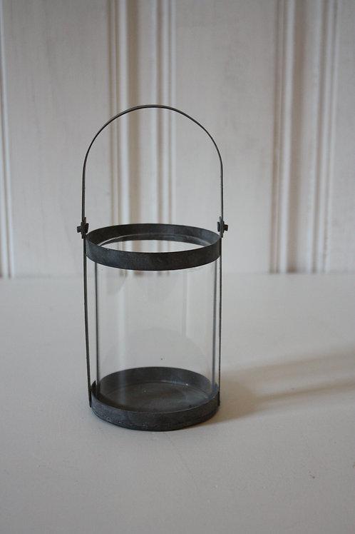 Liten lanterna i antik zink
