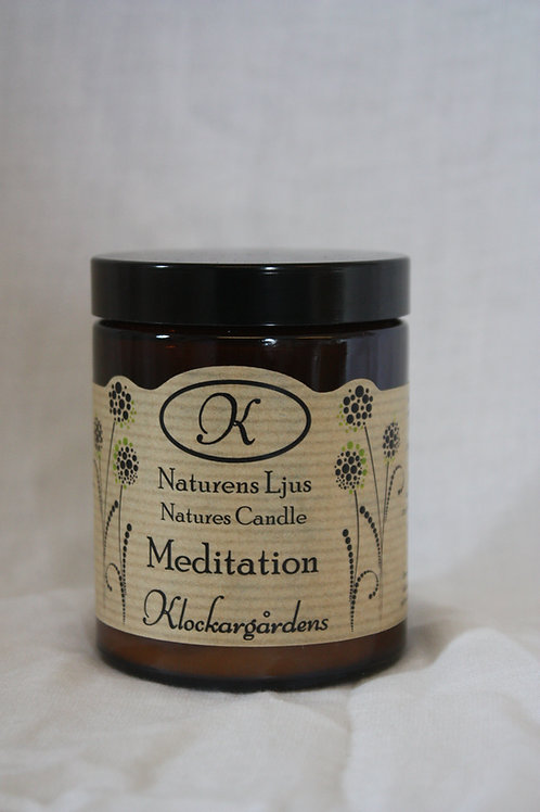 Naturligt ljus Meditation