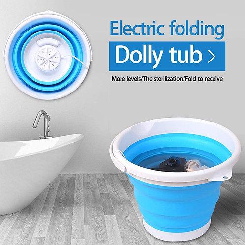 Mini Washing Machine Folding Laundry Tub Automatic Clothes Washing Bucket