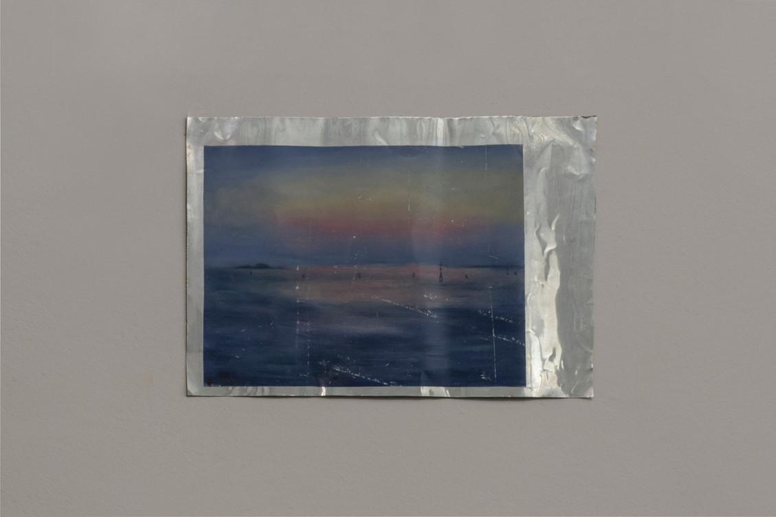 The Arrival | Oil on aluminium | 27 x 37 cm