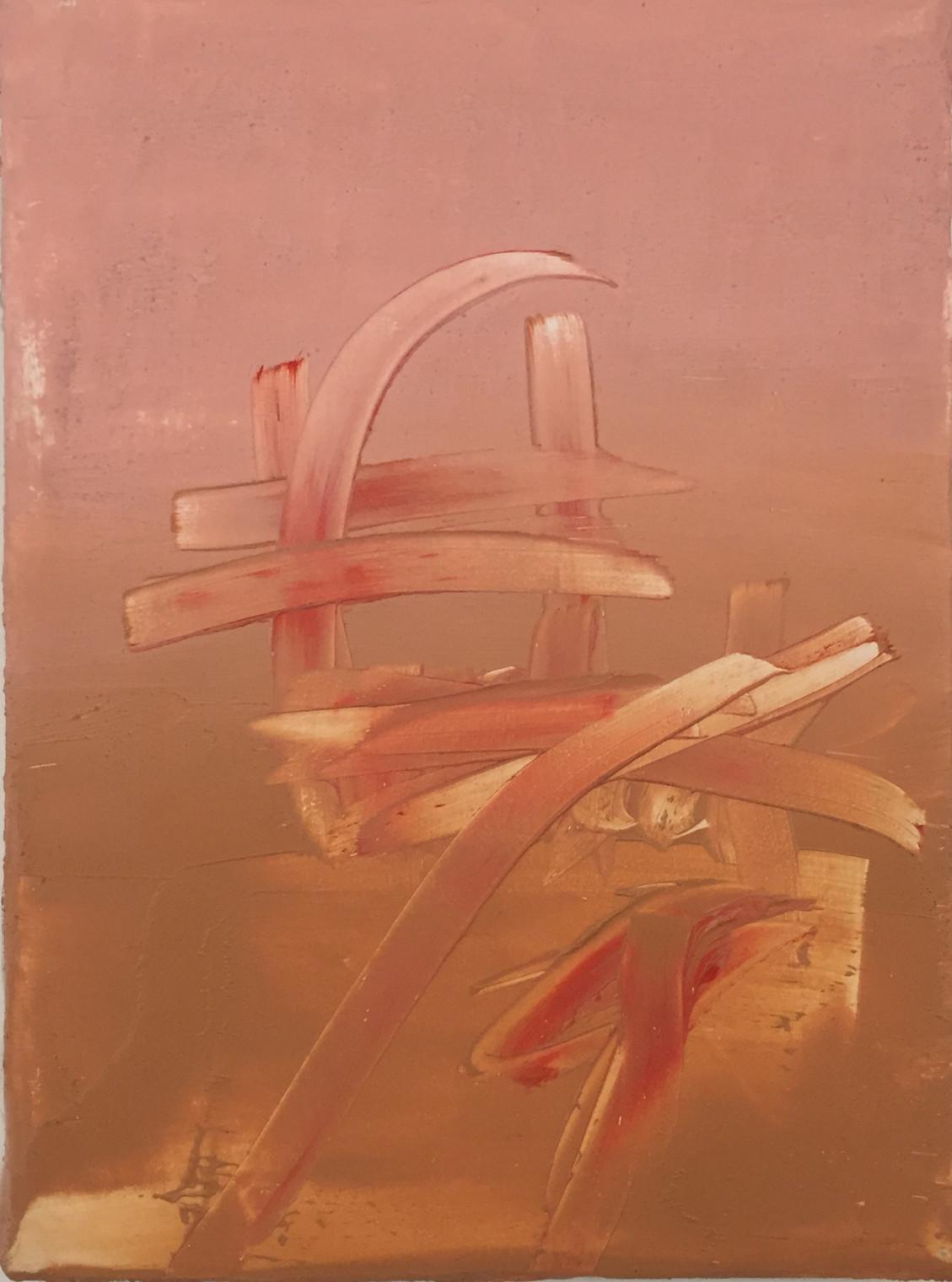 Fancy Lipstick, 2015 | Oil on canvas | 22 x 16 cm