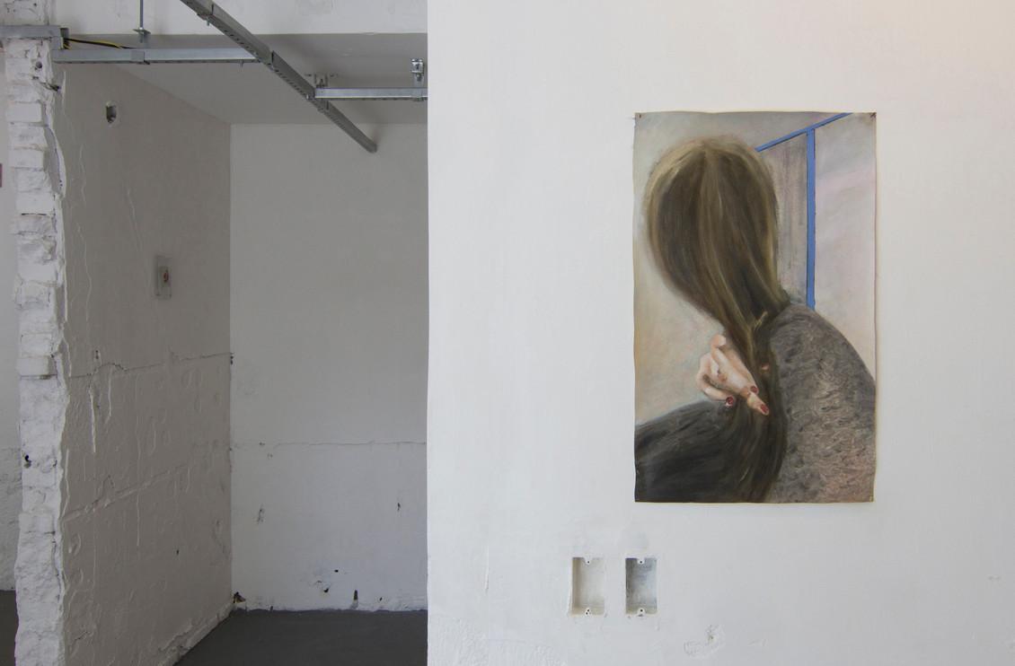Anxious Madonna, 2016 | Oil on canvas | 64 x 40 cm
