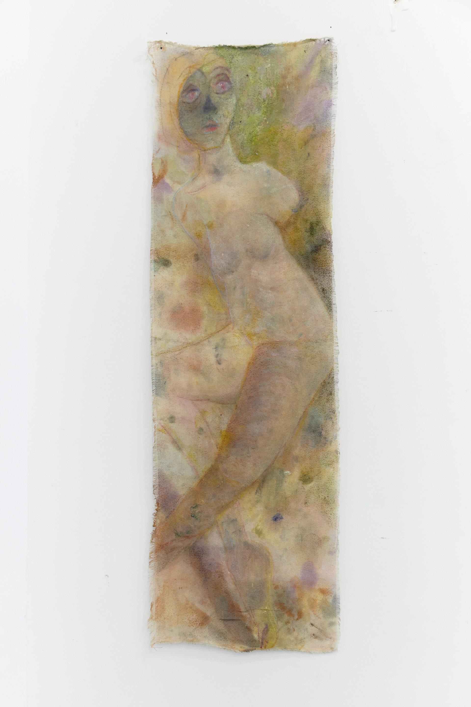 Fear, 45 x 145 cm, oil on cotton, 2018