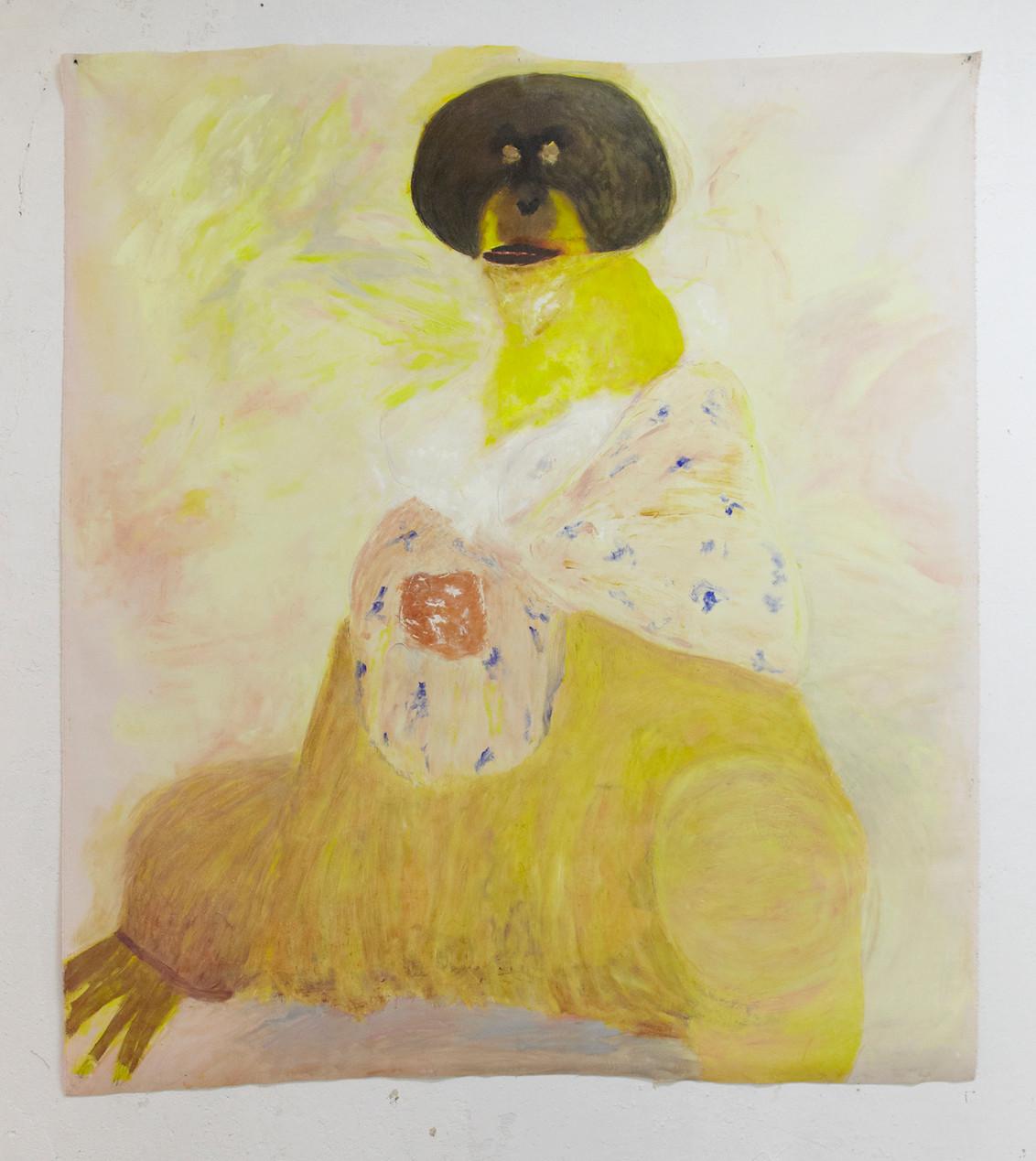 Matriarche, 2018 | Oil on canvas | 134 x 154cm