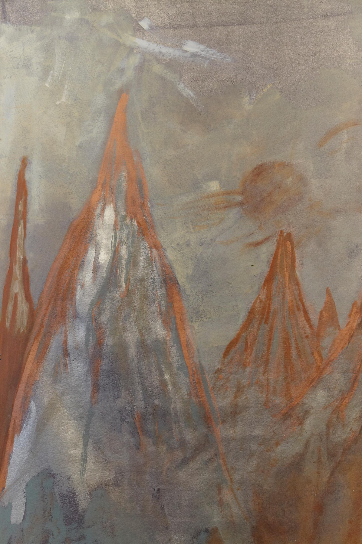 Eruption, detail