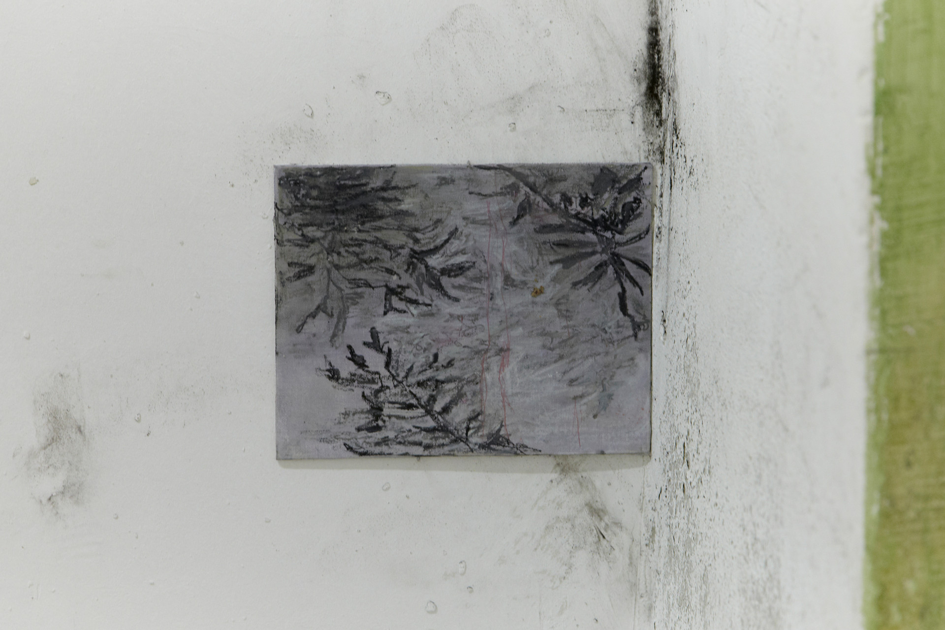 Storm, 25 x 20 cm, oil on canvas, 2018