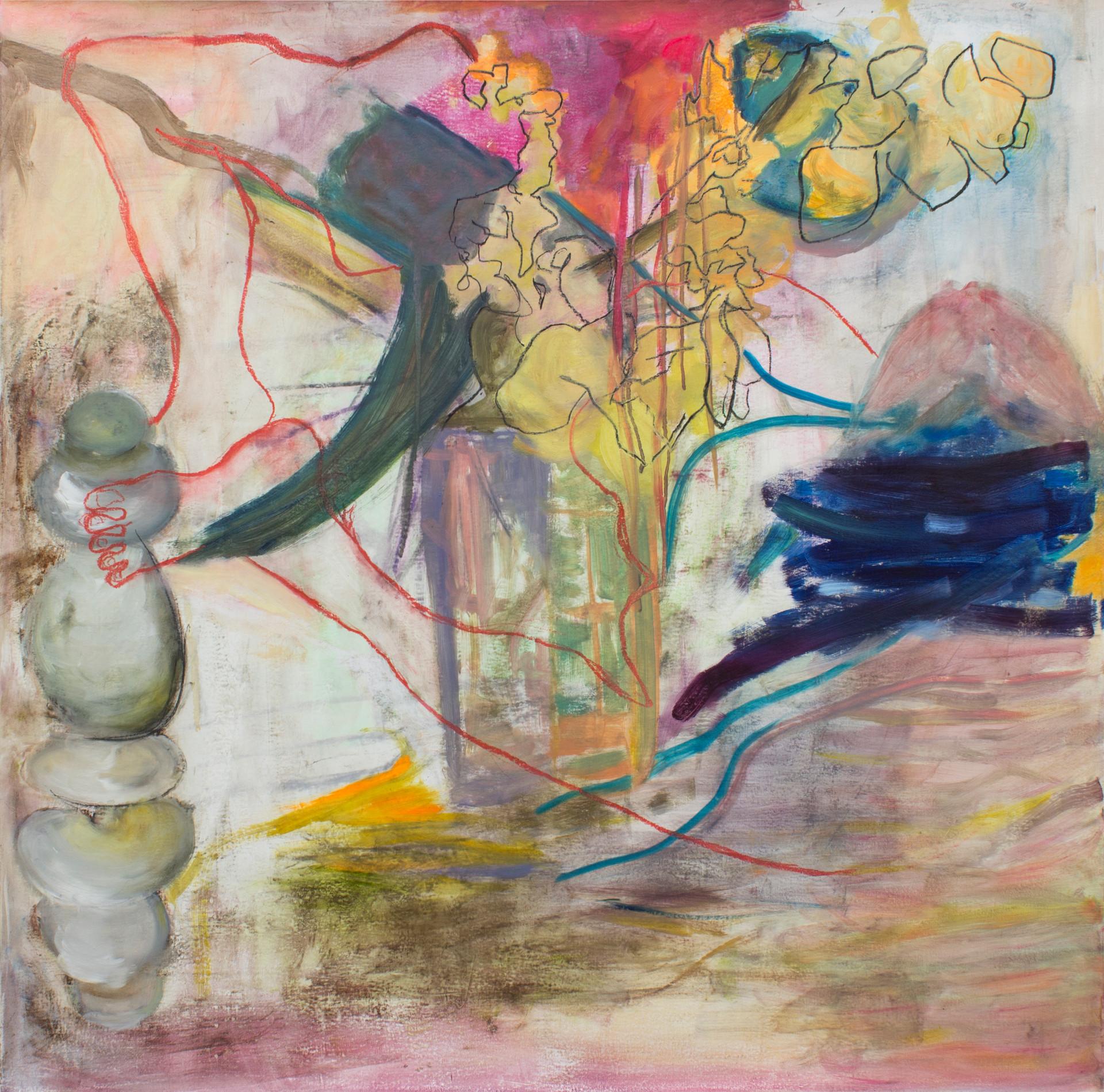 Nest, 2015 | Oil on canvas | 100 x 100 cm