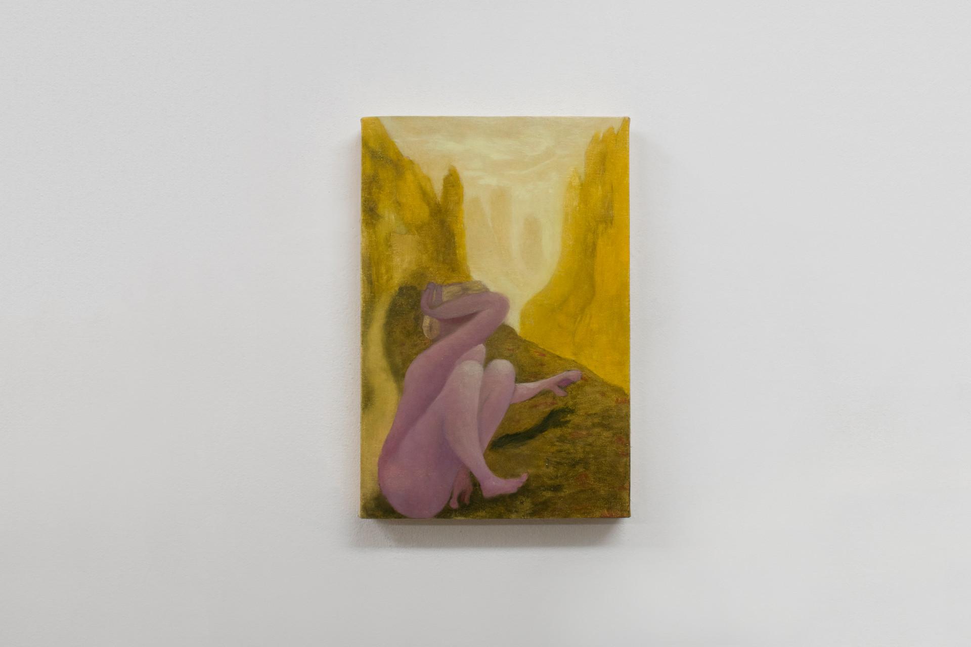 Blindness, 2018 | Oil on canvas | 30x20cm