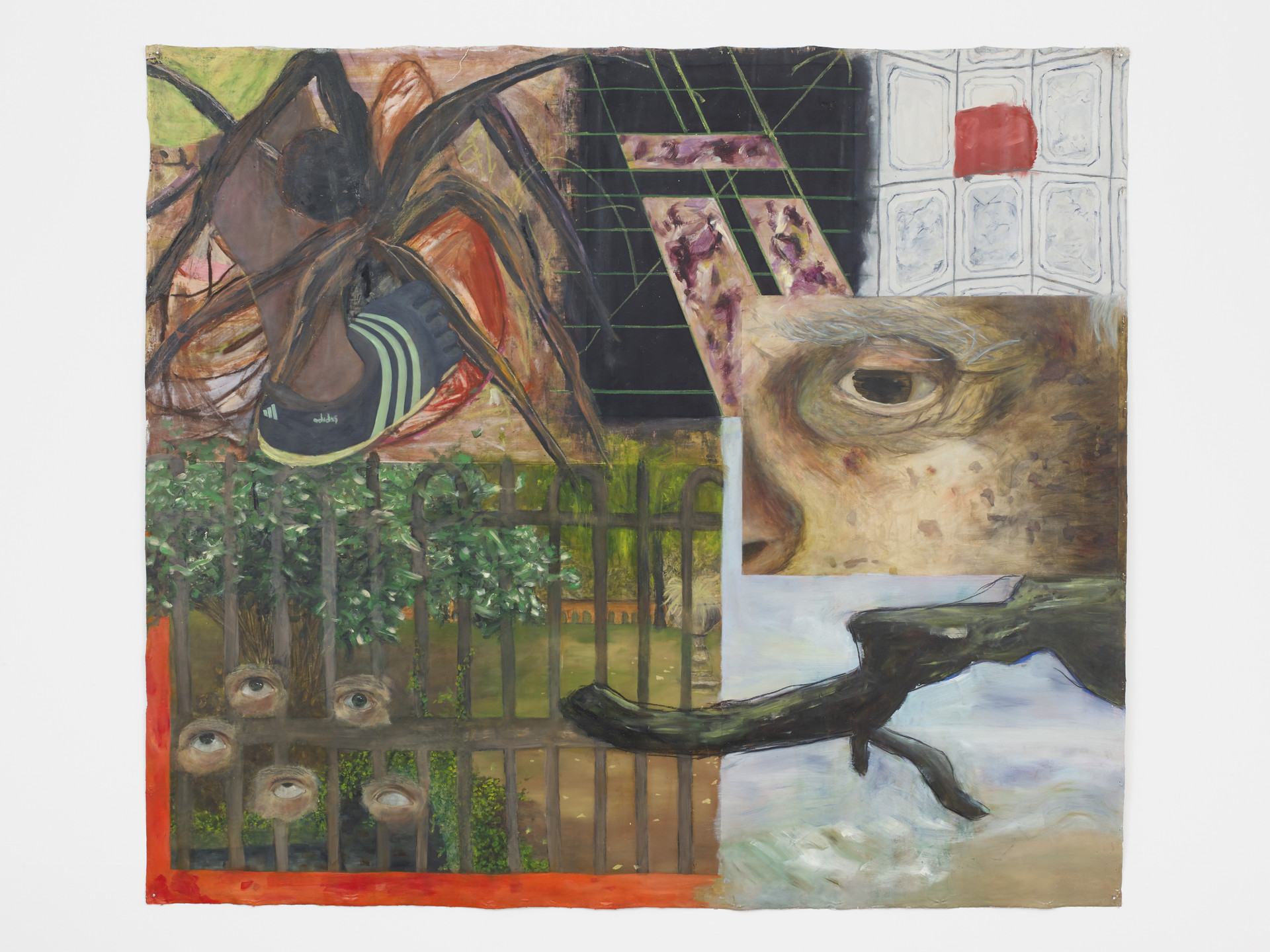 The Ineffable Cision of Seeing, 2015-18   Oil on Canvas    138 x 160 cm