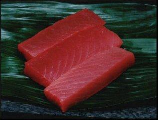 赤坂のお魚 ~マグロの赤身~