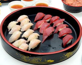 赤坂のお魚 ~お寿司~