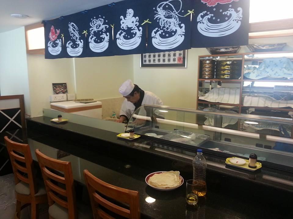 赤坂レストランの寿司職人