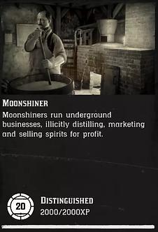 20 Level Moonshiner