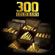 300 Gold bars