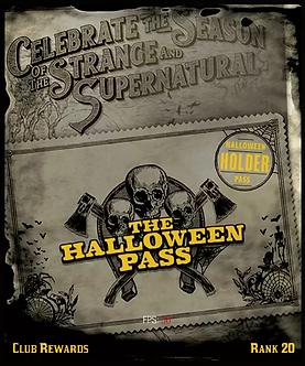 Halloween Pass 20 Level