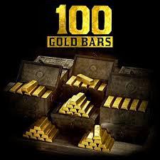 100 Gold bars