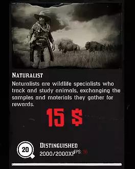 20 Level Naturalist + 8.000$