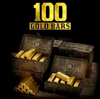 100 Altın külçe