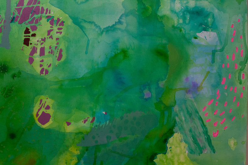"""Detail from """"Ebbing and Emerging"""""""