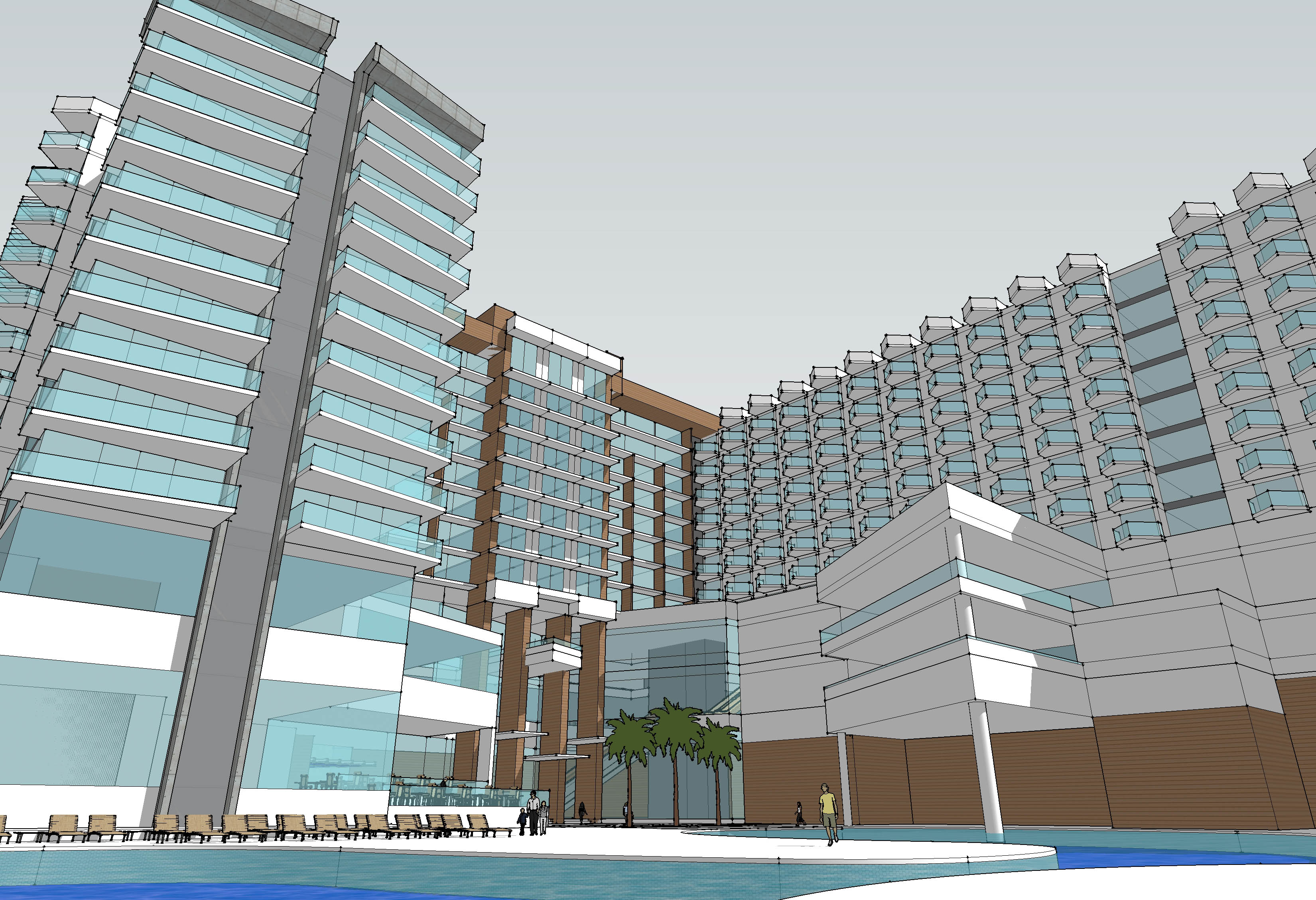 Resort and Hotel Contemporary