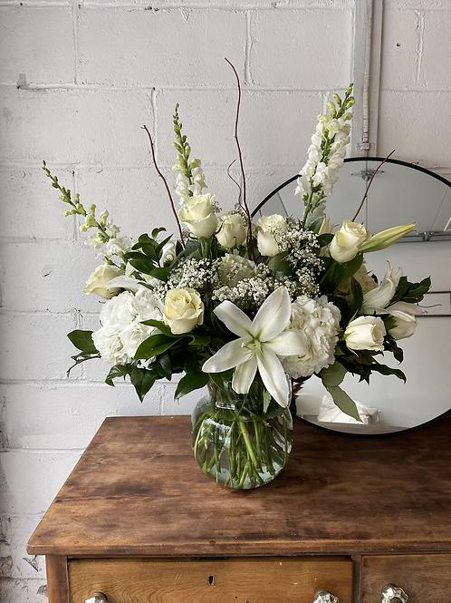 Deluxe Sympathy Vase Arrangement