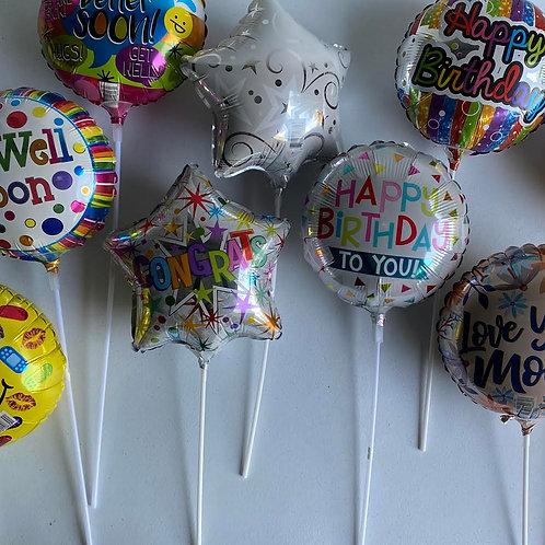 """Mini 9"""" Balloons"""
