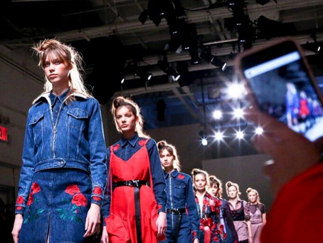 When was the first New York fashion week?