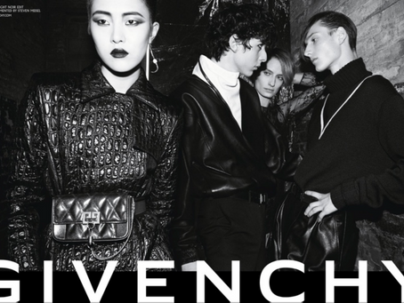 Givenchy owns the Night w                 Fall-Winter 2018 campaign