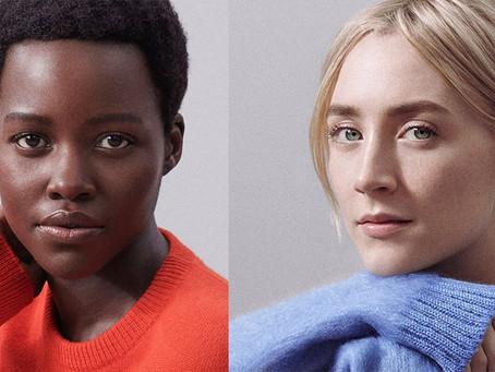 Lupita Nyong'o and Saoirse Ronan Are the (Bare!) New Faces of Calvin Klein