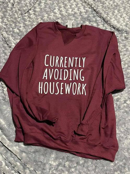 Currently Avoiding Housework