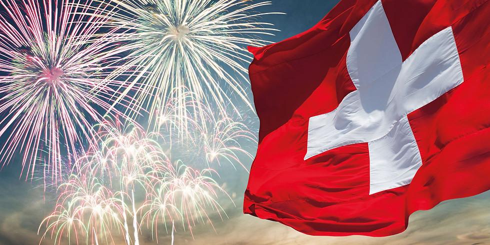 1. Augustfeier im Schwarzsee mit Teaxasbound