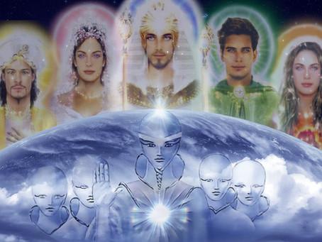 Mestres Ascensionados e os Arcanjos dos Sete Raios