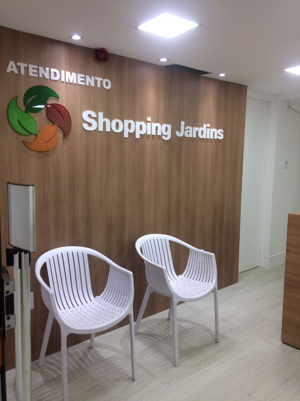Reforma no Shopping Jardins