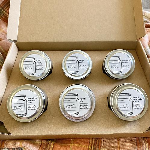 Coffee & Pastries Fall Sample Box