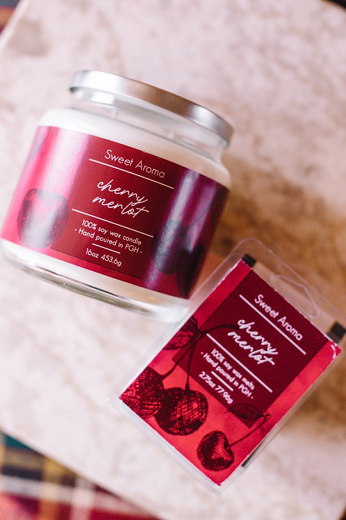 Cherry Merlot Melts