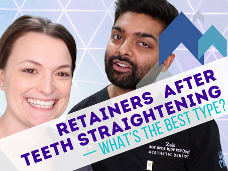 Retainers After Teeth Straightening and Invisalign - What's the Best Type? (2020)